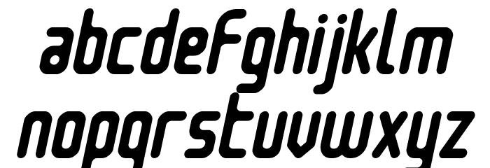 Nowadays Italic फ़ॉन्ट लोअरकेस