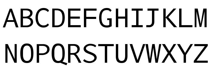 Nu Sans Mono Demo لخطوط تنزيل الأحرف الكبيرة