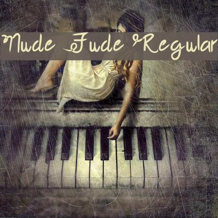 Nude Fude Regular Fuentes examples