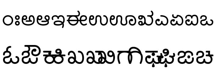Nudi 05 k Font UPPERCASE