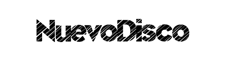NuevoDisco  Free Fonts Download