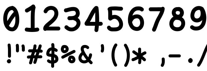 NukaMono Font OTHER CHARS