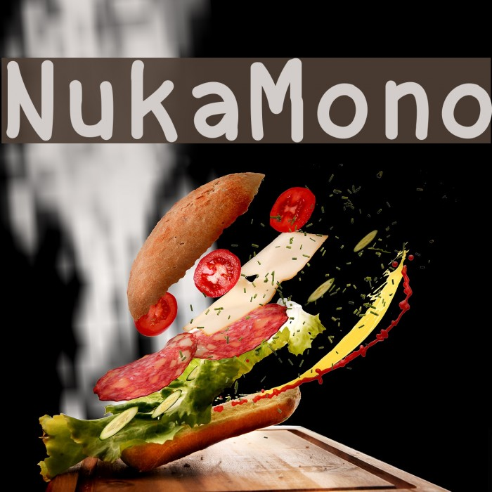 NukaMono Font examples