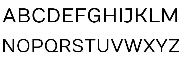Numans-Regular Font UPPERCASE