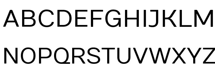 Numans Font UPPERCASE