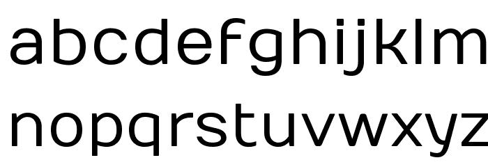 Numans Font LOWERCASE