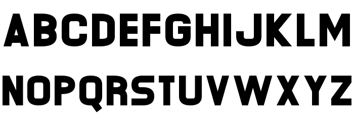 O.K. Retro Шрифта строчной