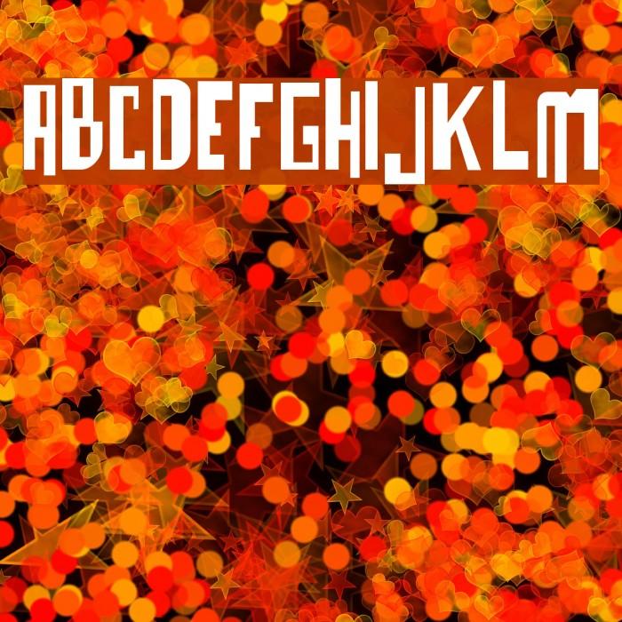 o bicho Font examples