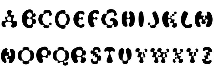 Oak-MagicMushroom Font Litere mari