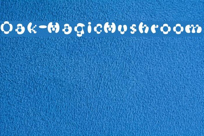 Oak-MagicMushroom Шрифта examples