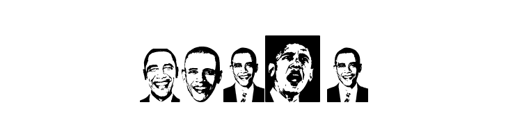 Obama  Free Fonts Download