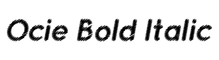 Ocie Bold Italic  baixar fontes gratis