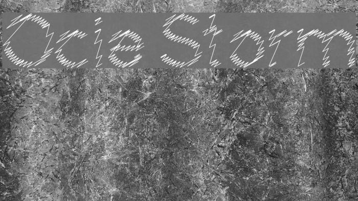 Ocie Storm Fonte examples
