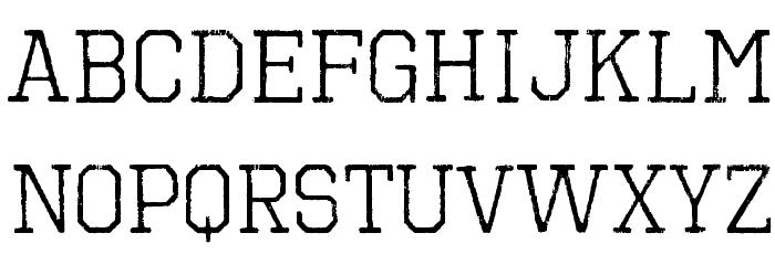 OctinVintageBRg-Regular Fonte MINÚSCULAS