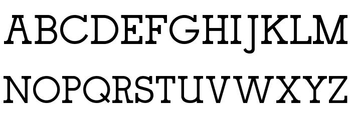 oce slab serif Fuentes MAYÚSCULAS