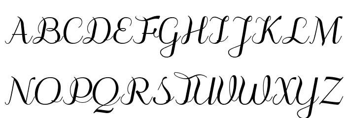 odstemplik Font Litere mari