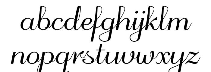 odstemplik Font Litere mici