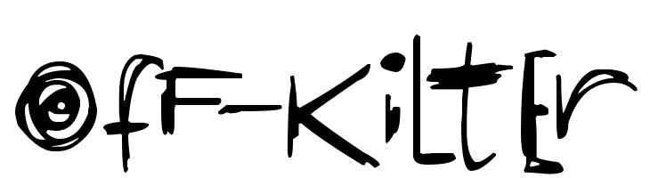 OfF-KiLtEr  font caratteri gratis