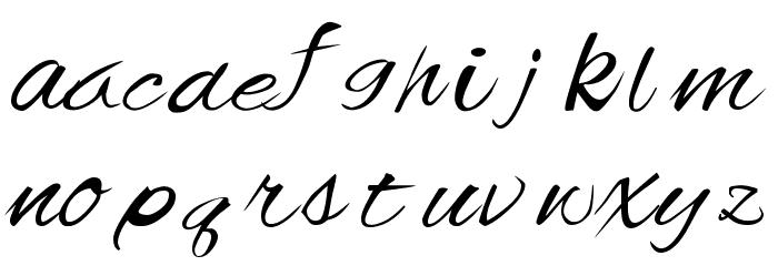 Offingapp Font LOWERCASE