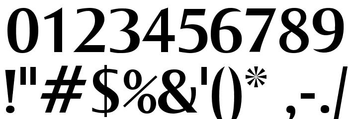 OgiremaBold Font OTHER CHARS