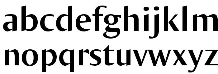 OgiremaBold Font LOWERCASE
