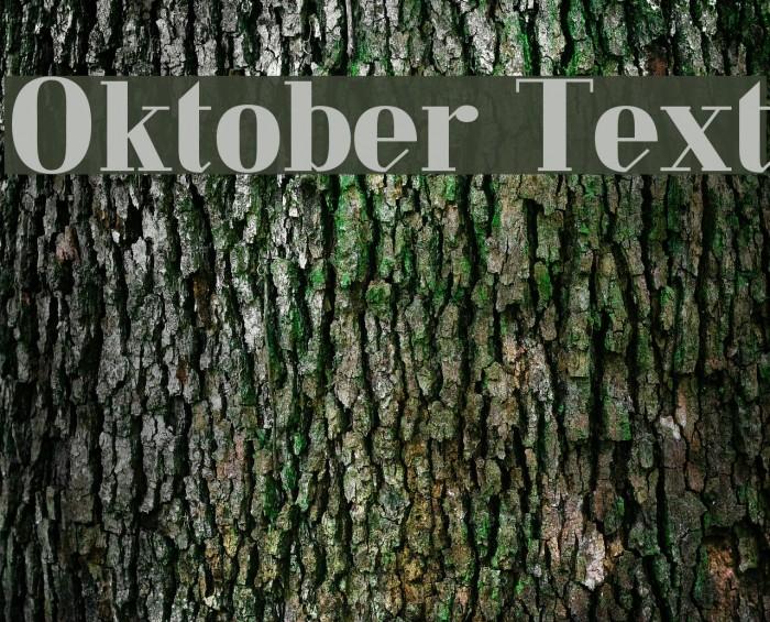 Oktober Text Fuentes examples