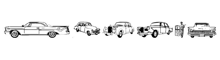 OLDCAR Font - free fonts download