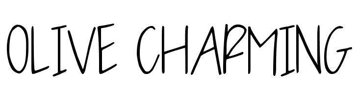 OLIVE CHARMING  Descarca Fonturi Gratis