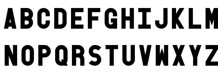Old Block Black Font LOWERCASE