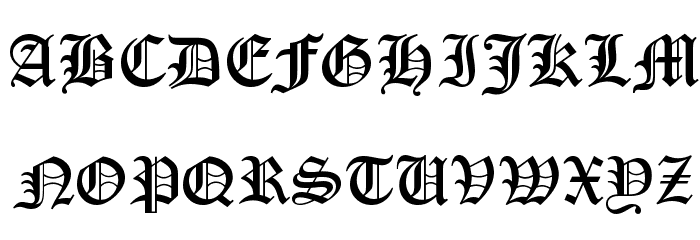 Engravers old english normal free font download.