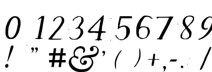 Old Klarheit Regular Font OTHER CHARS