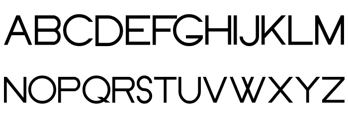 Old Republic Font UPPERCASE