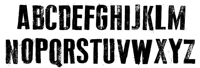 Old Typography Шрифта ВЕРХНИЙ
