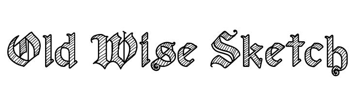 Old Wise Sketch  baixar fontes gratis