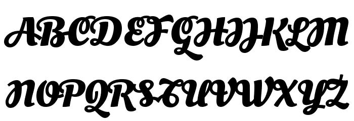 Oleo Script Swash Caps Bold Font UPPERCASE