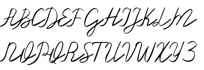 Olster 字体 大写