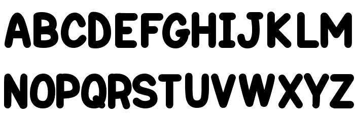 One Trick Pony Font UPPERCASE