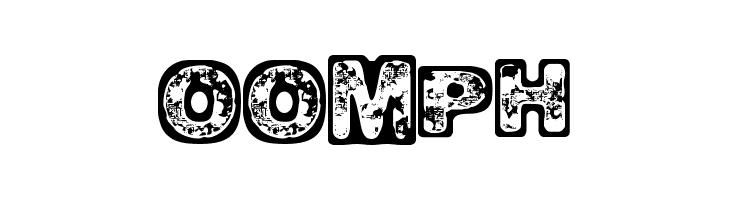 Oomph  नि: शुल्क फ़ॉन्ट्स डाउनलोड
