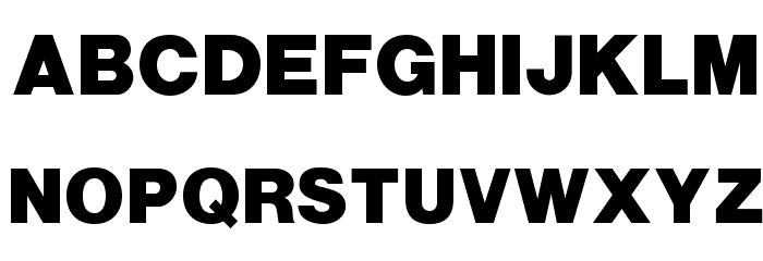 OPTIAlpine-Bold Font UPPERCASE