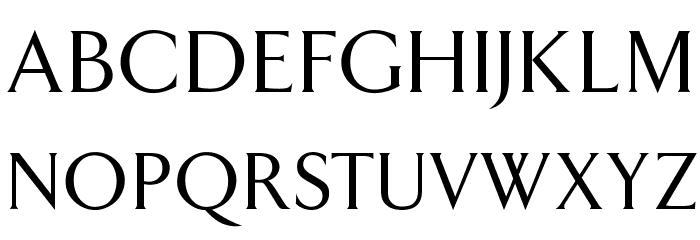 OPTIAmway Font UPPERCASE