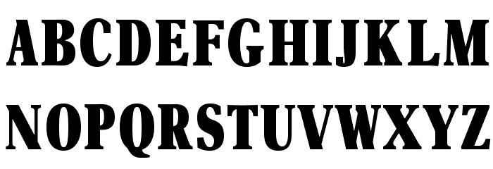OPTIAsterAd-BlackExtraCond Шрифта ВЕРХНИЙ