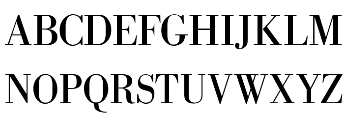 OPTIBodoni-Antiqua Font UPPERCASE