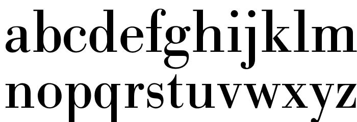 OPTIBodoni-Antiqua Font LOWERCASE