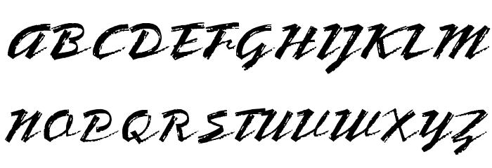 OPTIBrinX-Script Шрифта ВЕРХНИЙ