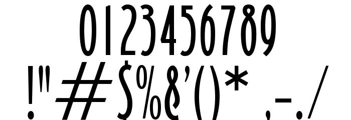 OPTICarling-Light Font OTHER CHARS