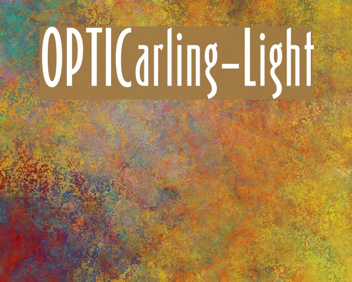 OPTICarling-Light Fuentes examples