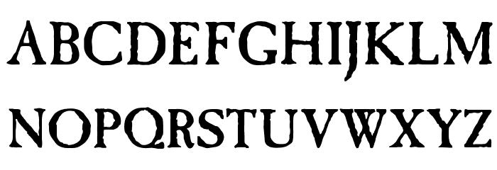 OPTICaslon-Antique Font UPPERCASE