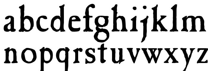 OPTICaslon-Antique Font LOWERCASE