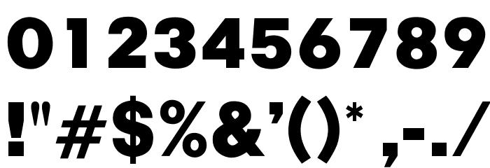 OPTIChampionBold Font OTHER CHARS