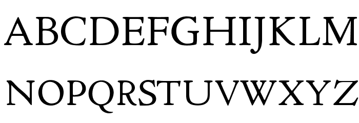 OPTICloister Font UPPERCASE